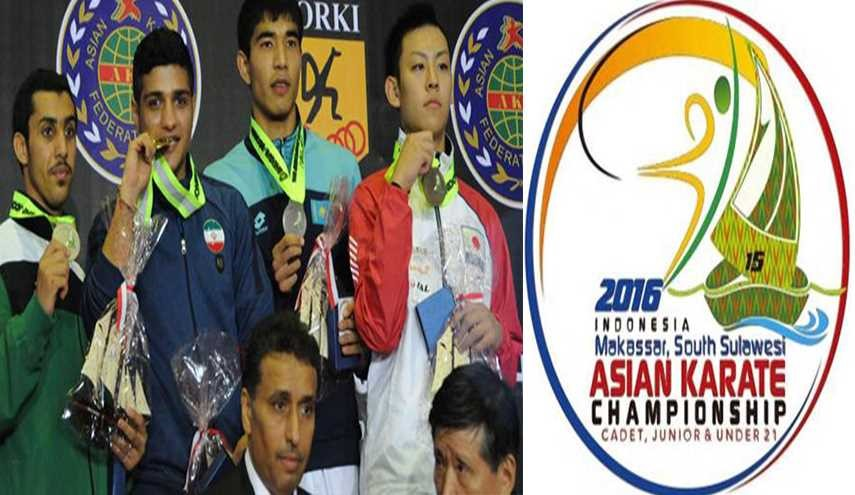 8 More Medals: Iran Receives in Asian Junior Karate Championship
