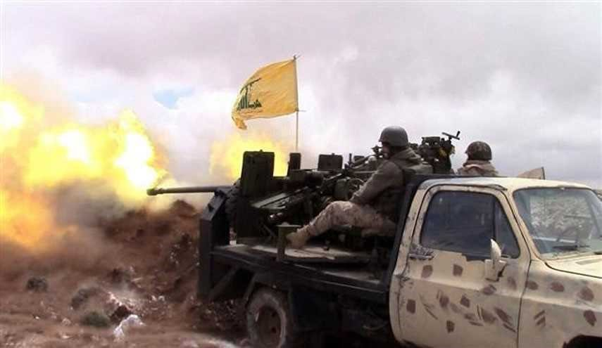 Hezbollah Opens Heavy Fire on Terrorists' Positions Near Lebanon-Syria Border