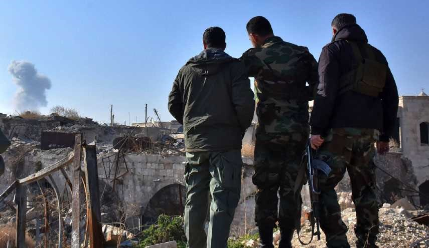 Syrian Jets Target Some Terrorist Positions in East Aleppo: AFP