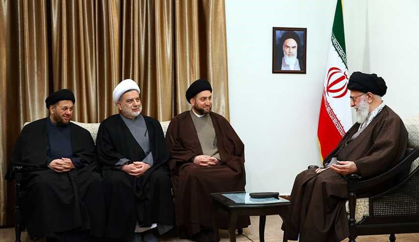 Leader receives head of National Iraqi Alliance