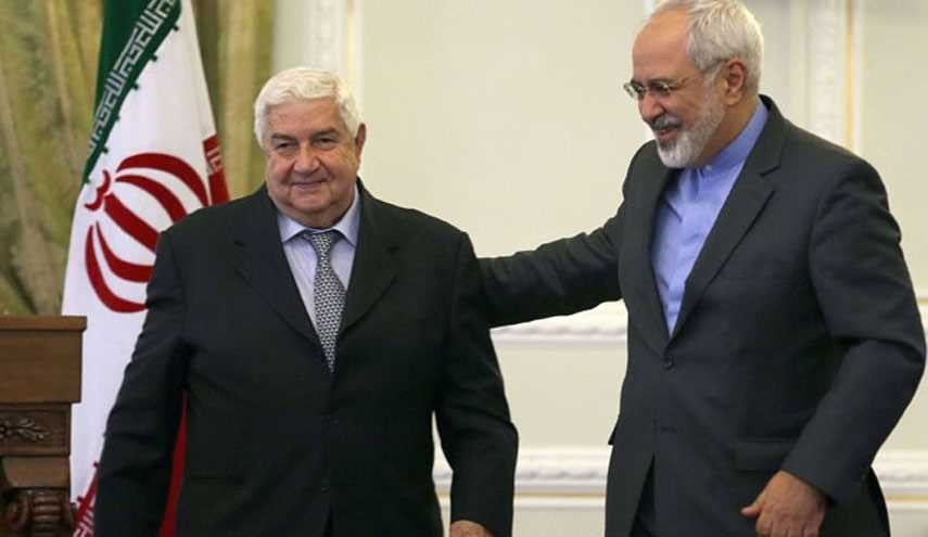Zarif, Muallem Talk about Aleppo Situation, Civilians' Safe Exit