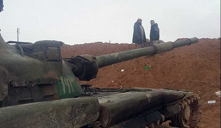 Syrian Army in Battle with Terrorists in Homs
