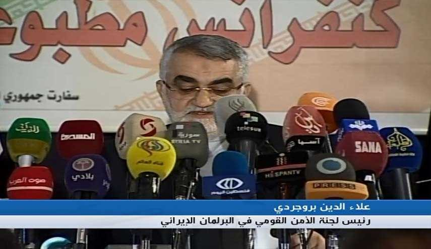 All Forces Entered Syria without Government's Consent Must Leave:Boroujerdi