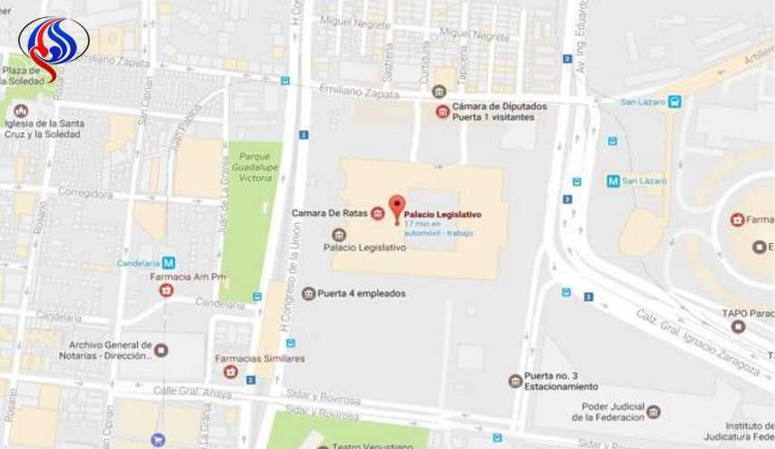 Mexico's Lower House Becomes 'Chamber of Rats' on Google Maps