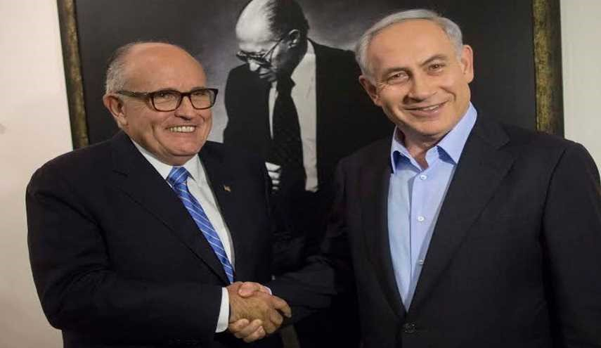 Rudy Giuliani Lands in Israel for Netanyahu Meeting