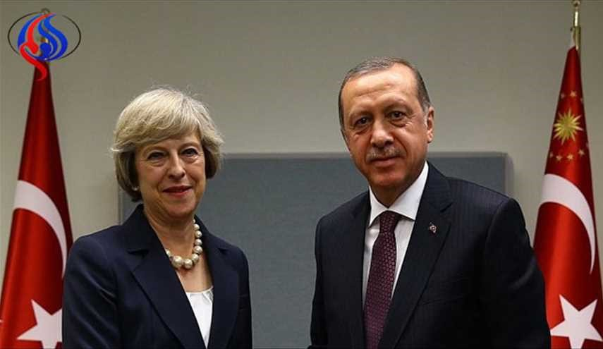 Britain's May due in Turkey for talks with Erdogan