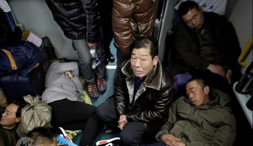 TRAVEL CHAOS IN CHINA