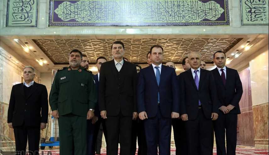 Armenian defense minister pays tribute to Late Imam Khomeini