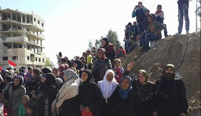 Syrian Families Return Home in Damascus Countryside