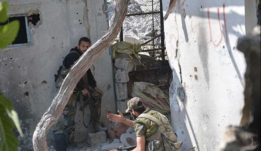 PHOTOS: Syrian Army on Verge of Complete Victory against Terrorists in Al-Qaboun-Damascus
