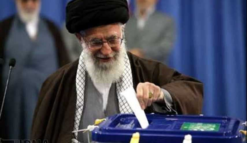 Supreme Leader casts vote in presidential, local elections