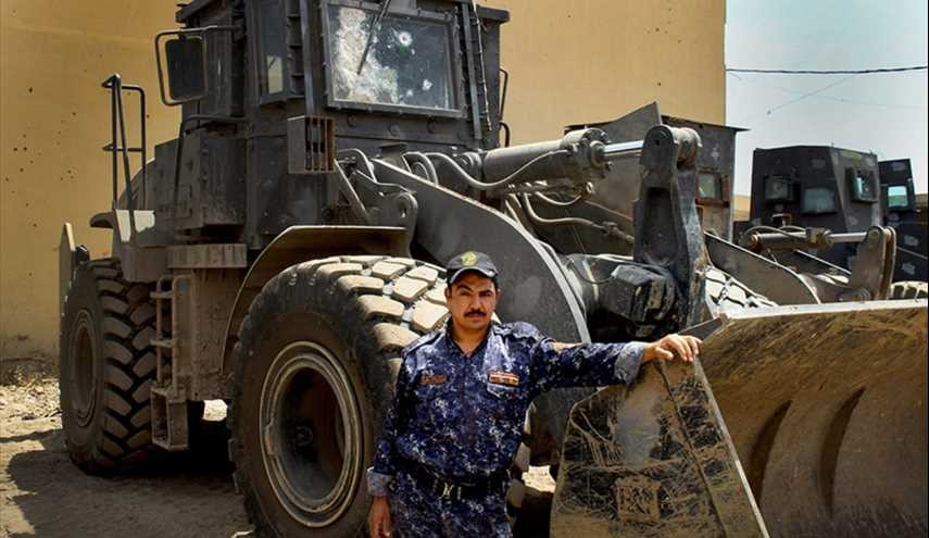 Bulldozers' role in the fight against ISIS