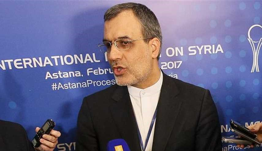 Astana to Host 5th Round of Syria Talks in Early July: Iran Diplomat