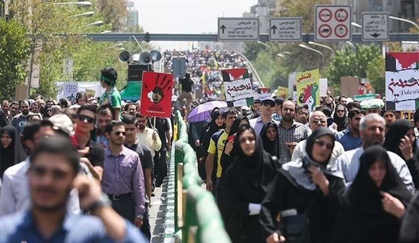 Iranians attend mass rallies to mark international Quds Day
