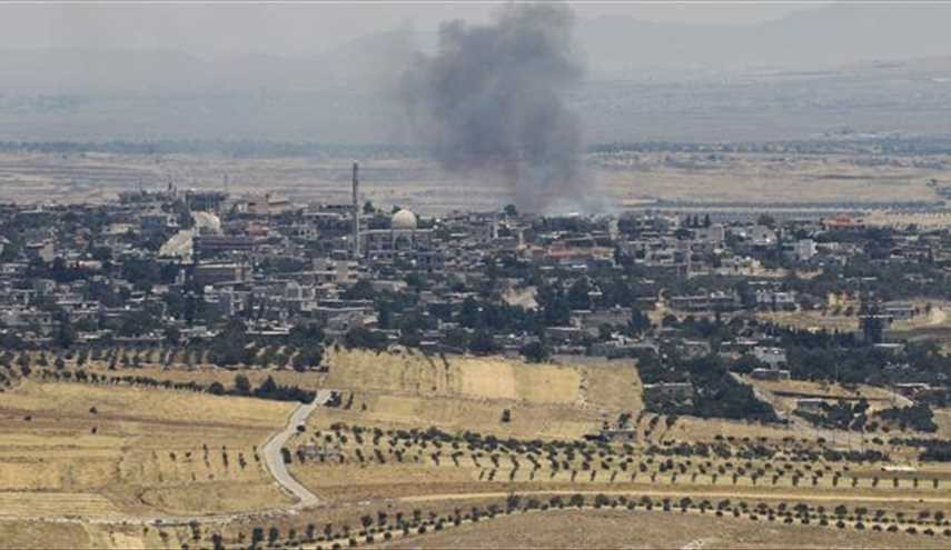 Israeli Forces Targets Syrian Artillery Position