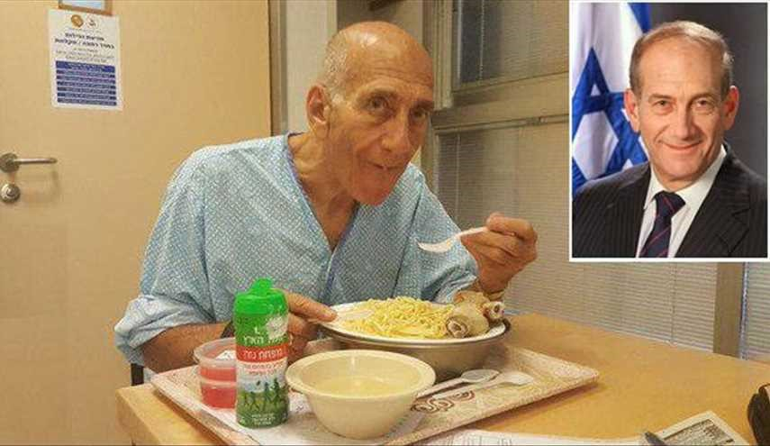 Ehud Olmert Freed from Prison near Tel Aviv