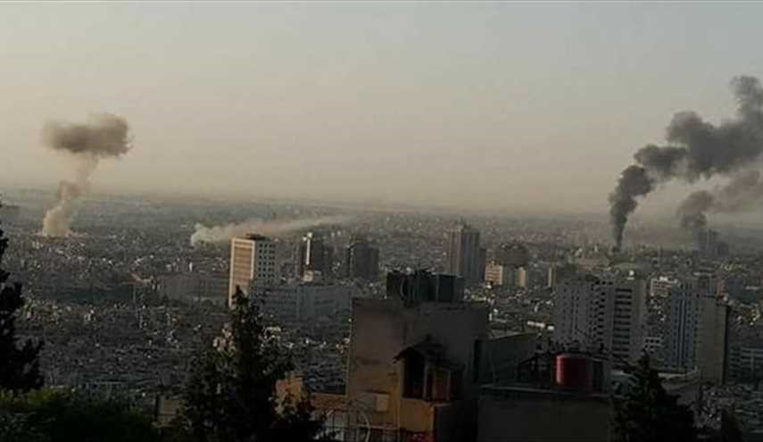 Multiple Blasts, Mortar Rounds hit Damascus