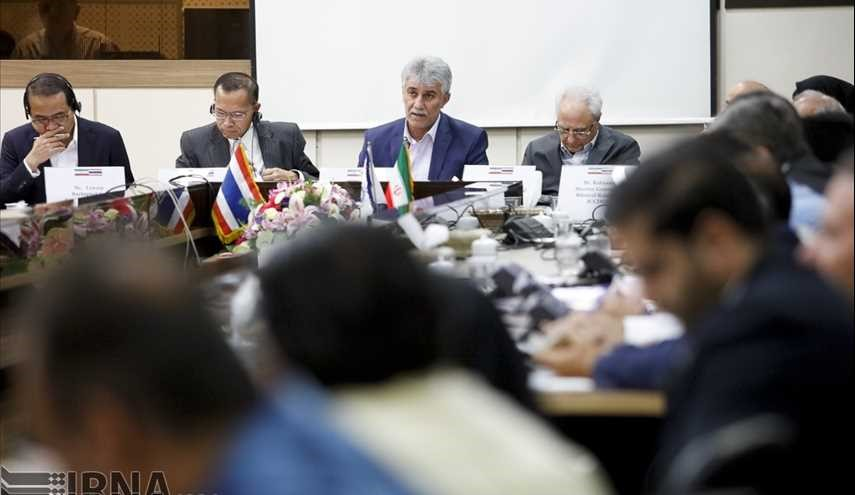 Iran, Thailand trade meeting in Tehran on July 24, 2017.