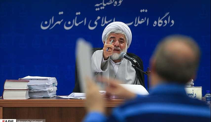 Eighth session of condemnation of Babak Zanjani's accomplices
