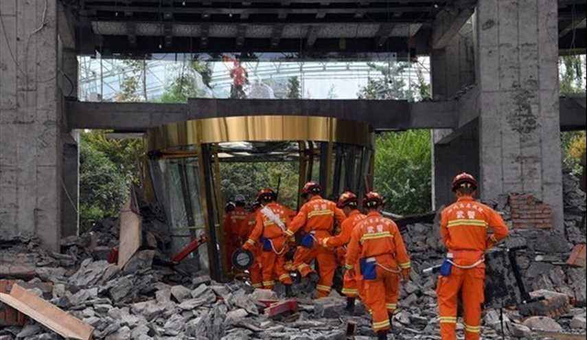 Rescue Crews Search for Survivors Following Deadly Earthquake in China