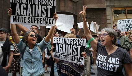Anti-Fascism Protests Erupt across US as Protesters Blame Trump for Deadly White Supremacist Rally in Virginia