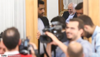 Zarif, UN envoy meeting in Tehran