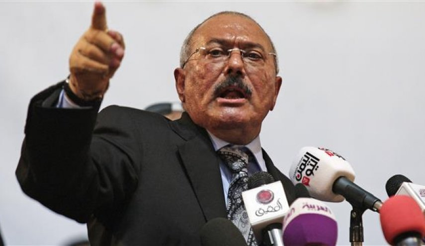 Ex-Yemeni president stresses unity with Houthis against Saudi-led war
