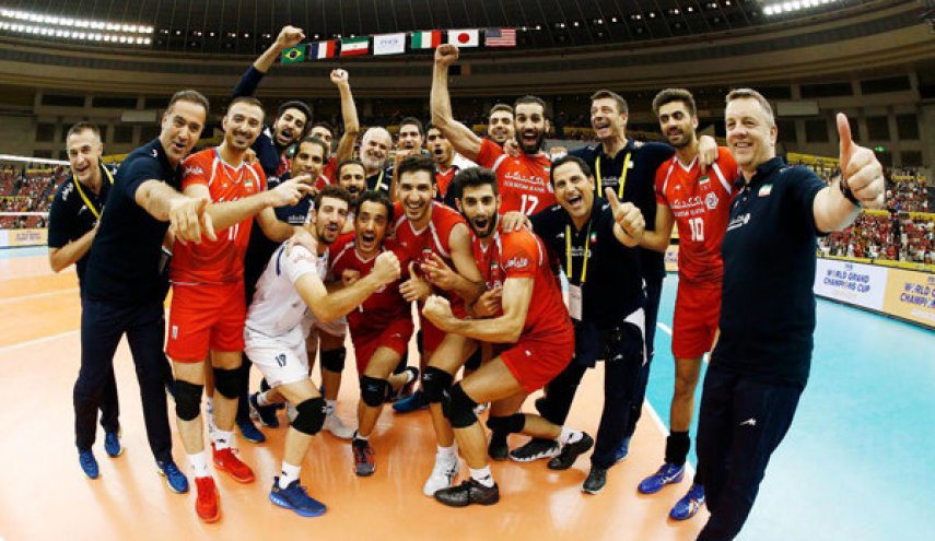 Iran's volleyball nails France, secures first ever world medal