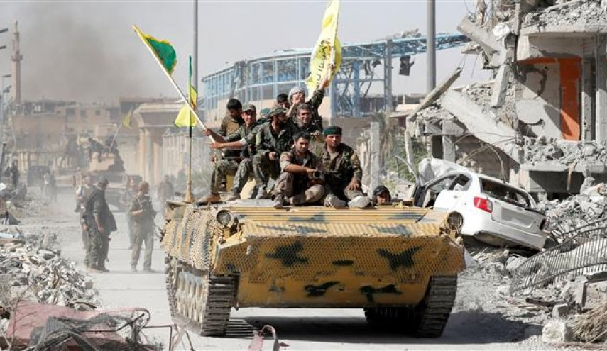 SDF won't hand over Raqqa to Syrian government