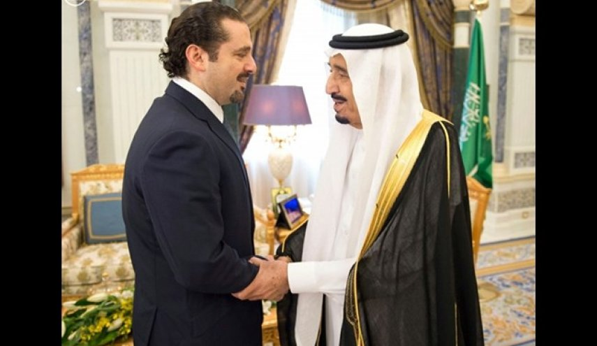 Saudi monarch hosts Lebanese PM after shock resignation