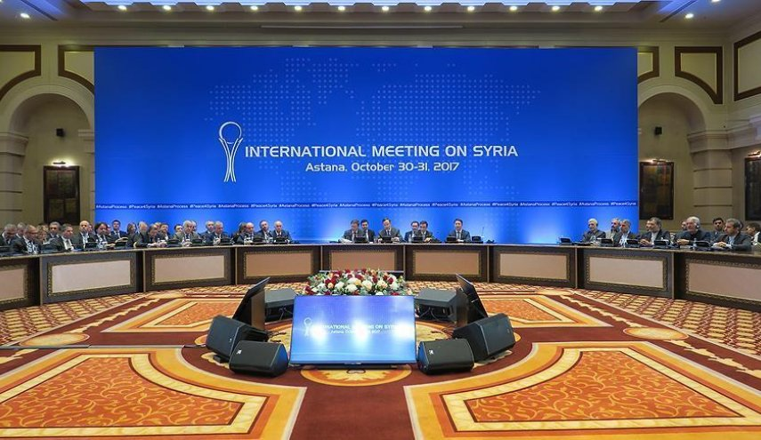 8th round Syria peace talks commences in Kazakhstan