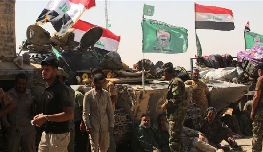 Iraq's PMF deployed to Syrian border to back army: Commander