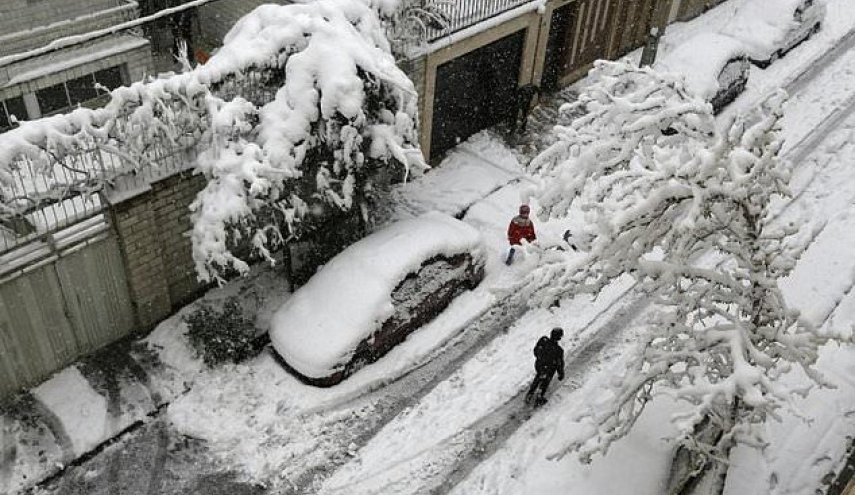 North Iran gets massive snow dump