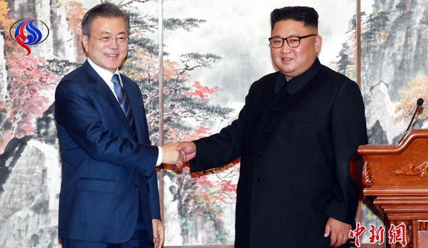 رهبران دو کره به کوهنوردی رفتند