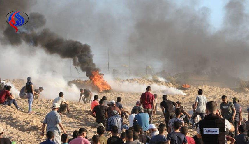 لحظه به لحظه با بیست و هشتمین جمعه بازگشت/5 فلسطینی شهید شدند