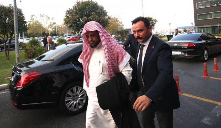 النائب العام السعودي يغادر تركيا ومعه اربعة طرود من المكسرات!!