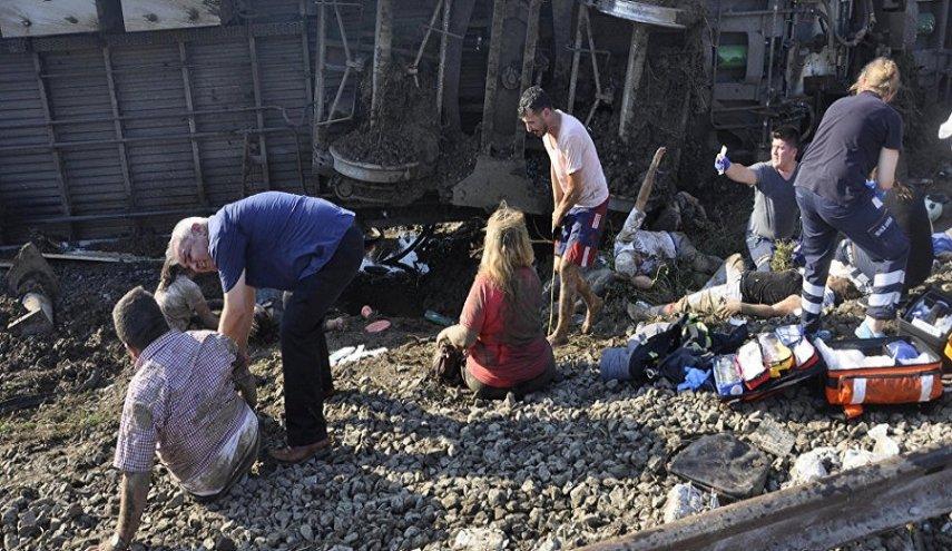 7 کشته 46 زخمی براثر سانحه قطار در ترکیه