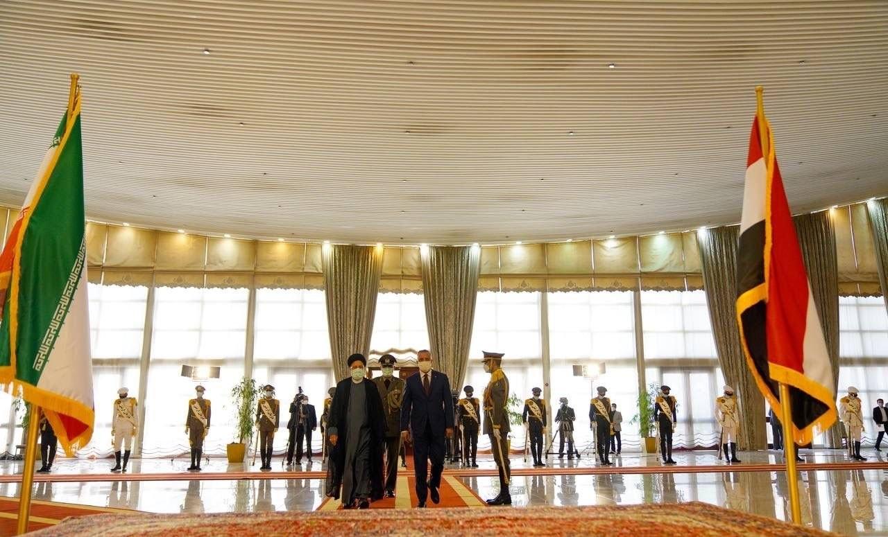 بالصور.. مراسم استقبال رئيس الوزراء العراقي في طهران