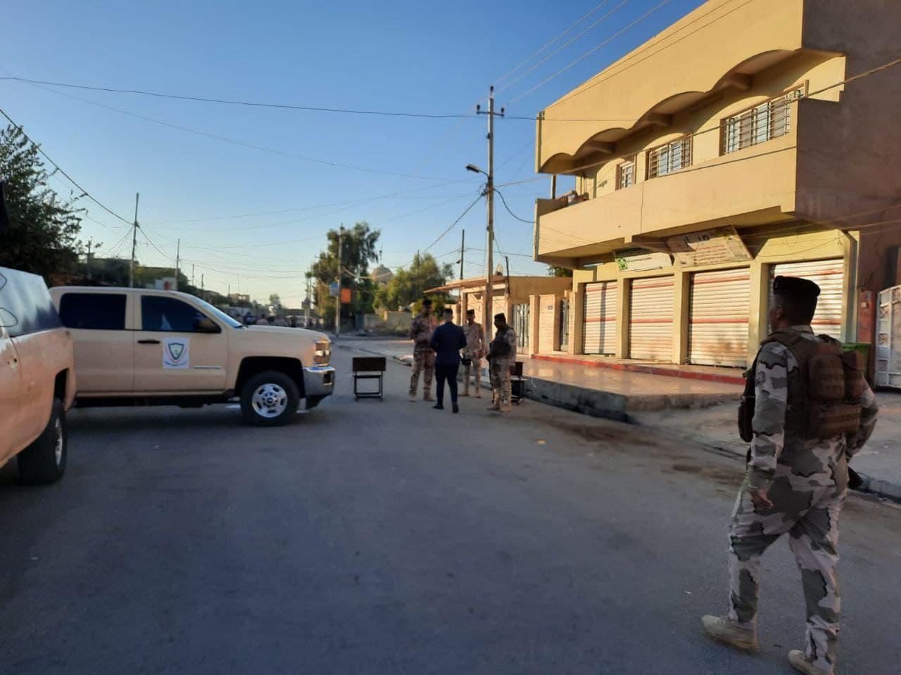 بالصور.. فتح مراكز الاقتراع في محافظة نينوى العراقية